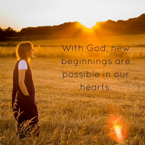 Beginnings with God